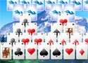 Snowy Peaks Solitaire online kártyajáték