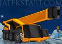 Space Crane Parking szállíts építőanyagokat