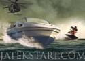 Speedboat Shooting védd meg a csónak utasait