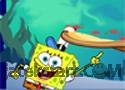 SpongeBobs Pizza Toss játék