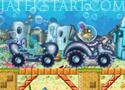 Spongebob Tractor 2 traktoros játék Spongya Bobbal