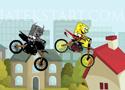 Spongebob vs Evil Bob motorverseny Spongya Bobbal