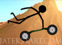 Stickman Mountainboard deszkás ügyességi versenyzős játékok