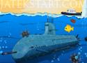 Submarine Wars tengeralattjárós játékok