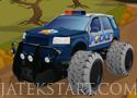 Texas Police Offroad küzd le az akadályokat a rendőrökkel