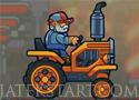 Tractor Derby traktorral a pályán