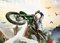 Winter Bike Stunts motoros ügyességi játékok