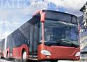 Winter Bus Driver 2 parkolj le a csuklósbusszal