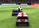 World Hummer Football lőj gólokat terepjáróval